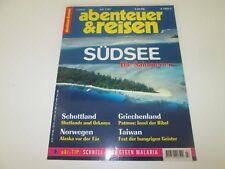 Abenteuer & Reisen - Juli 07 / 1997 - Südsee Die Salomonen, Schottland, Norwegen