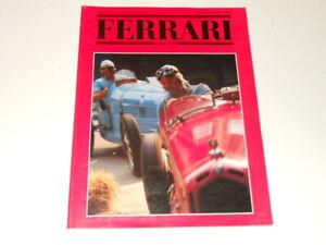 revue magazine FERRARI club Italia 1987 - Italian text