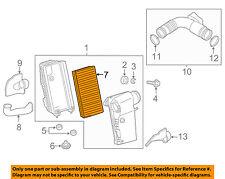 PORSCHE OEM 11-15 Cayenne Engine-Air Cleaner Filter Element 95811013000