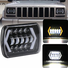"For HILUX H4 LED Headlight 7x6"" 5X7"" Readlight Replacement Hlgh low Beam 2Pcs"