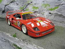 "Bburago Ferrari F40 ""Racing"" 1:18 #1"