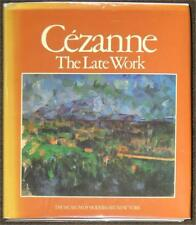 CEZANNE ~ THE LATE WORK ~ MUSEUM OF MODERN ART, NEW YORK ~ ILLUSTRATED ~ HC