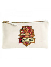 Gryffindor Canvas zip purse pencil harry potter pen bag hogwarts griffindor
