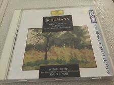 Robert Schumann Carnaval Piano Concerto Scenes From Childhood DG Cd Free Post