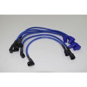 Eagle Blue Plug Leads 10.5mm E1054100 Mazda RX7 Ser 1,2,3 12A