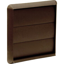 NEW 10 X Electrical Wall Outlet Gravity Flap 100mm Brown Each FreePost.UK Seller