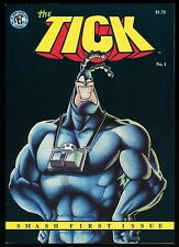 Tick No 1 Comic Signed & Dated by Ben Edlund Tick Ninjas NEC Press First Print