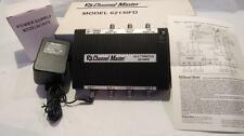 Channel Master CM 6214IFD 3X4 Way Multiswitch with power supply Satellite Signal