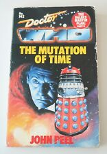 Doctor Who The Mutation of Time #142 - John Peel - 1988 Target Soft Back Book