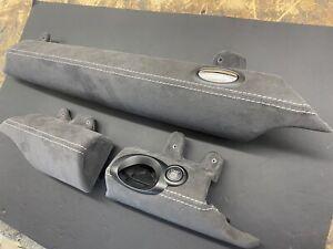 Bmw Mini R56 R57 R58 JCW GP lower dash trims in alcantara or leather