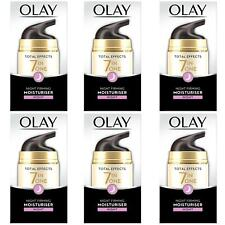 6 Olay Total Effects Night Cream Moisturiser 7-In-1 AntiAgeing FirmingCream 50ml