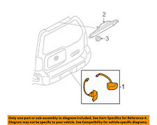 s l225 rear car & truck lighting & lamps for nissan xterra , genuine oem Wiring Harness Diagram at bayanpartner.co
