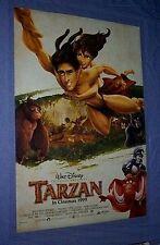 Original 1999 TARZAN 2 Sided rolled mint Int style