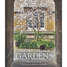 Oxford College Gardens By Tim Richardson 9780711232181 Hardcover BRAND New