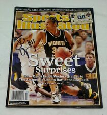 Wichita state basketball sports illustrated 2006 sweet sixteen Sean Ogirri Auto
