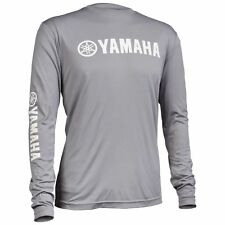 Yamaha Pro Fishing Moisture Wicking Long Sleeve T-Shirt L Grey CRP-14LSM-GY-LG
