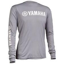Yamaha Pro Fishing Moisture Wicking Long Sleeve T-Shirt L Grey CRP-14LSM-GY-LG