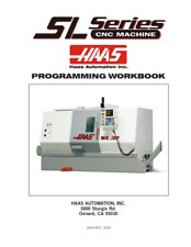 More details for haas sl series cnc machine programming workbook manual reprinted jan 06