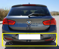 New Genuine BMW F20 F21 M Sport Bumper Diffuser With One Muffler Exhaust 8060302