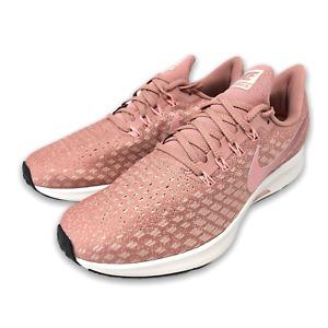 WMNS  Nike Air Zoom Pegasus 35 Running Shoes SZ 9- Pink White - 942855 603