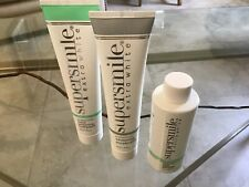 Supersmile EXTRA Whitening Toothpaste & Accelerator & Pre-Rinse TRIPLE MINT