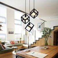 Vintage Retro Metal 3 Head Cluster Pendant Light Shade Modern Light Style Home