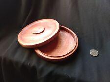 Purple heart wooden box