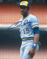 1982 BREWERS Cecil Cooper signed photo 8x10 AUTO Autographed Milwaukee