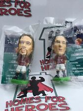 2 x CORINTHIAN PROSTARS AS ROMA BATISTUTA AND TOTTI SEALED IN SACHETS