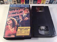 Midnight Manhunt Rare Crime Comedy VHS 1945 OOP HTF William Gargan Ann Savage