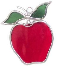 Large Apples Stained Glass Suncatcher