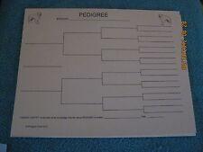Kuvasz Blank Pedigree Sheets Pack 10