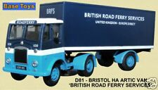 Base Toys D81 Bristol Artic British Rd Ferry 1/76 Scale/OO Gauge T48