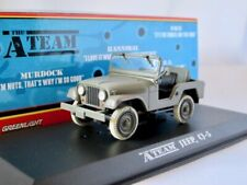 "1980 Jeep CJ-5 grün   ""The A-Team""  / Greenlight Hollywood 1:43"