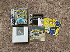 Pokémon: Silver Version (Nintendo Game Boy Color, 2000) COMPLETE (CIB)