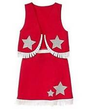 NWT GYMBOREE COW GIRL COWGIRL COWBOY COSTUME 3-4 RED SILVER STARS 4TH OF JULY 4
