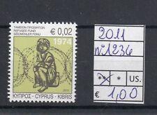 Cipro / Cyprus  2011 Pro rifugiati 1234 MNH