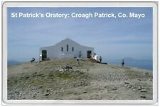CROAGH PATRICK - JUMBO FRIDGE MAGNET - ST  SAINT IRELAND IRISH PATRICKS ORATORY