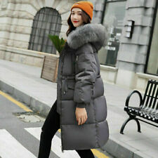 winter Women coat Down jacket quilted hooded Long jackets Ladies puffer parkas