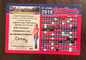 2018 St Louis Cardinals Baseball Season Game Schedule Magnet Calendar
