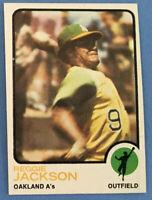 1973 Topps #255 REGGIE JACKSON (A's) HOF