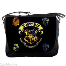 Harry Potter Hogwats Hogwarts Messenger Bag Shoulder Notebook Laptop School Bags