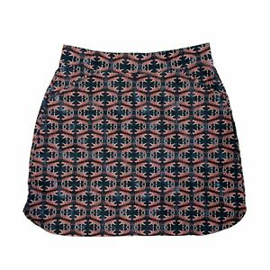Peter Millar Skort Size M UPF 50 + Petal Tiger Performance Skirt Shorts Stretch