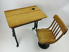 Antique Schoolhouse Hw Eclipse Adjustable Desk and Chair home school