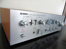 YAMAHA CA-1000 INTEGRATED STEREO AMPLIFIER with CLASS A & B MODES -- SERVICED --