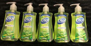 Lot Of 5 - DIAL COMPLETE Liquid Hand Soap ALOE 7.5 Oz. PRIORITY