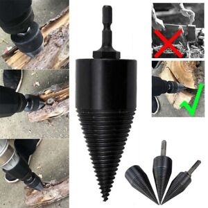 Firewood Drill Bit With Round Shaft N High-Power Rechargeable Lithium Electric