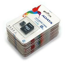 New Lot Of 25 ADATA Class 4 8GB MicroSD Micro SD SDHC TF Flash Memory Card 8 GB