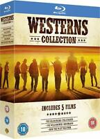 Westerns Collection: 5 Films In 1 Box - Blu-Ray Set [NTSC, Clint Eastwood] NEW
