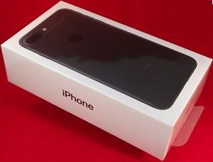 NEW SEALED Cricket Wireless Apple iPhone 7  32GB  Black  A1778 4G LTE 1 Yr Warra